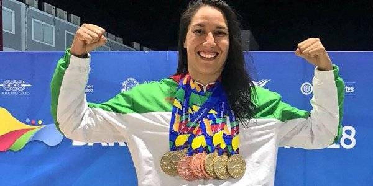 Liliana Ibáñez, máxima figura en Barranquilla 2018