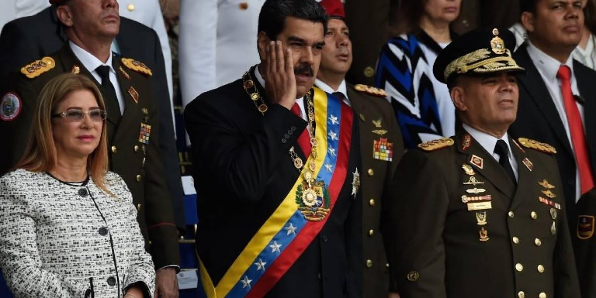 """VIDEO. Nicolás Maduro asegura que """"el nombre de Juan Manuel Santos está detrás de este atentado"""""""