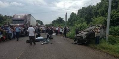 Accidente en Chiquimulilla
