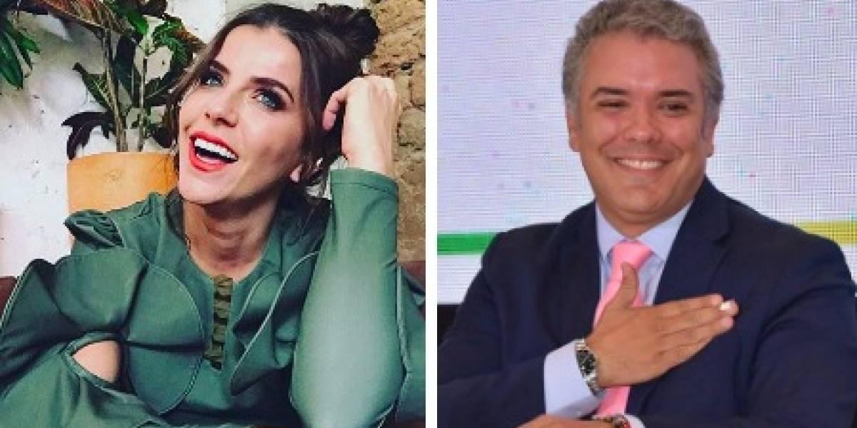 María Fernanda Yepes habla de su relación con Iván Duque