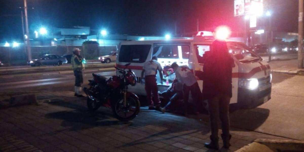 Accidentes viales dejan dos personas heridas y dos perros fallecidos