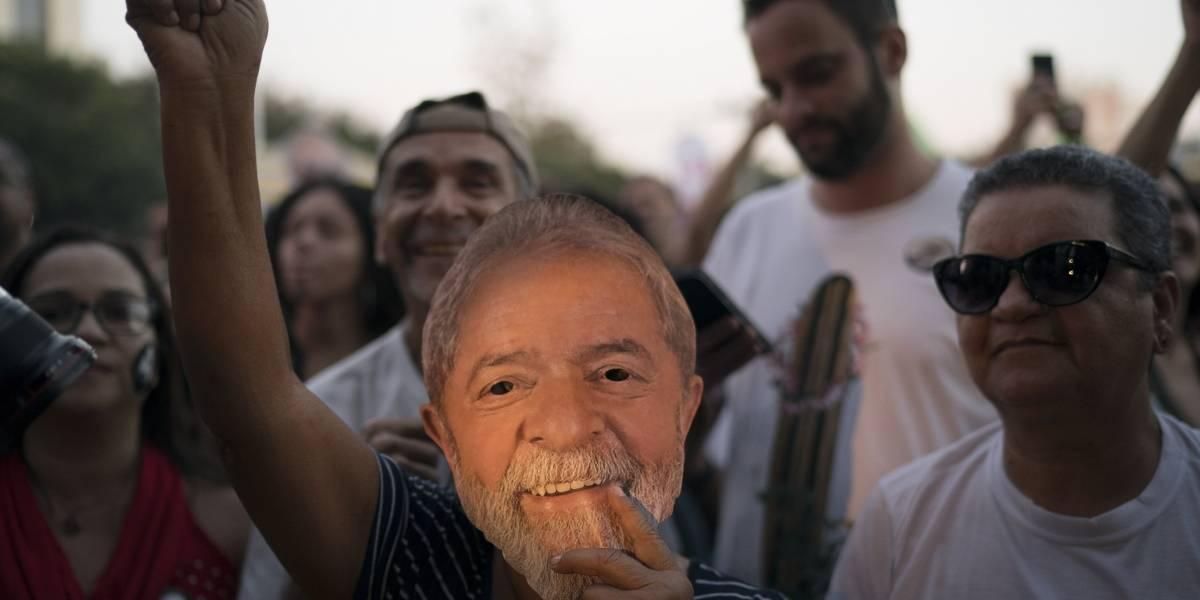 Lula da Silva es declarado candidato presidencial, pese a estar preso