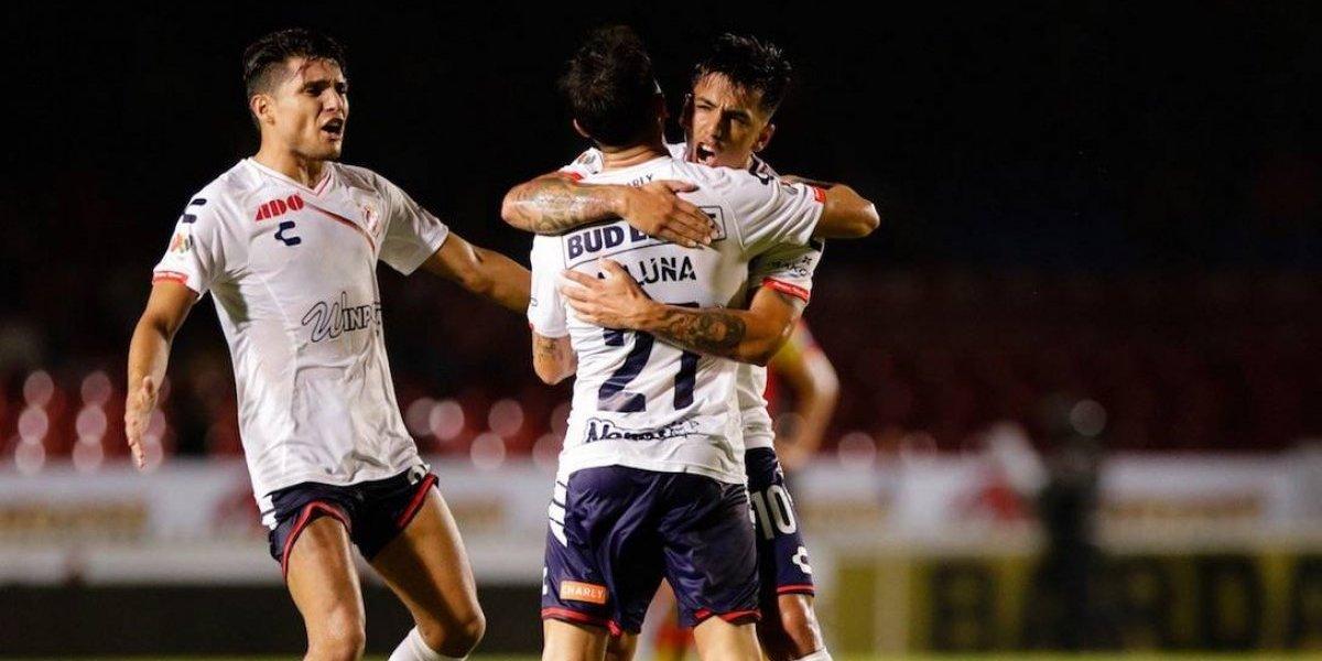 Joe Abrigo anotó un golazo en los descuentos y le dio un agónico empate a Veracruz ante Morelia