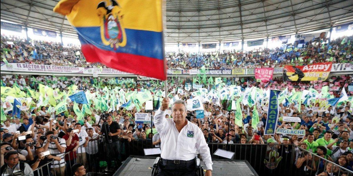 Alianza País ratifica a presidente Lenín Moreno como líder