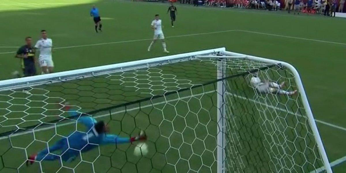 """VIDEO. El """"blooper"""" de Carvajal y Keylor Navas en el juego ante la Juventus"""