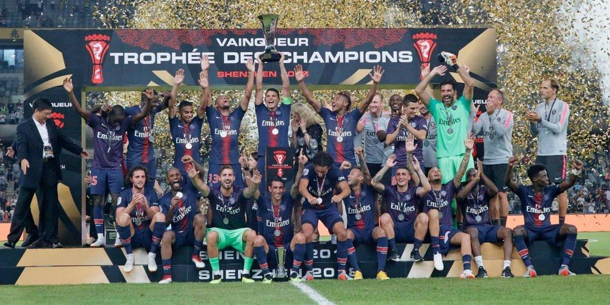 PSG se corona en la Supercopa de Francia