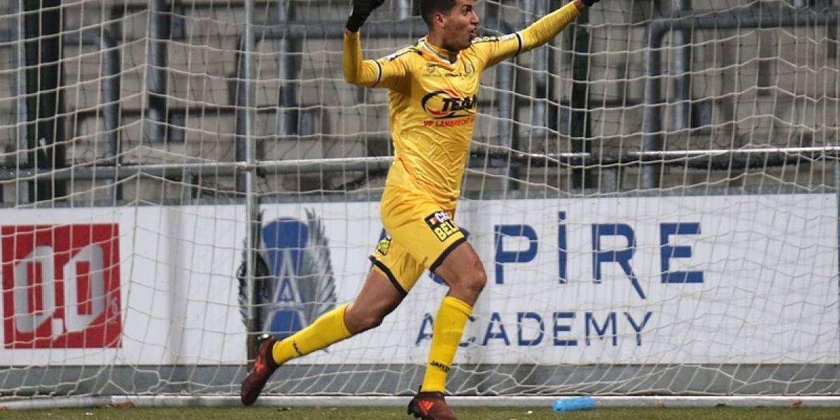 José Francisco Cevallos Jr, anotó su primer gol en la temporada del Lokeren