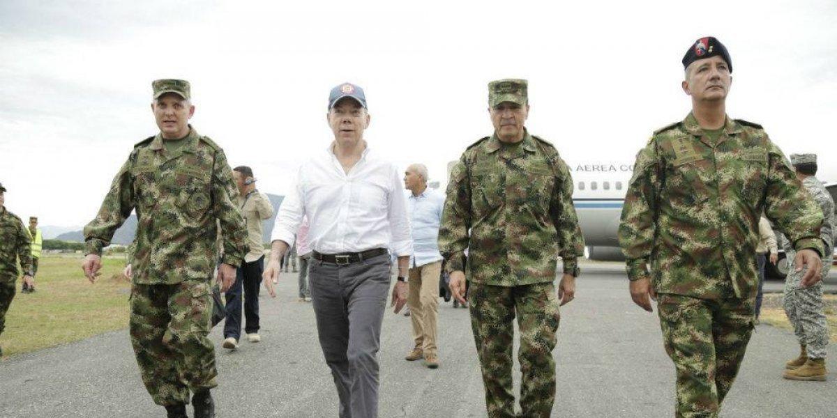 Colombia niega participación de Santos en atentado contra Maduro