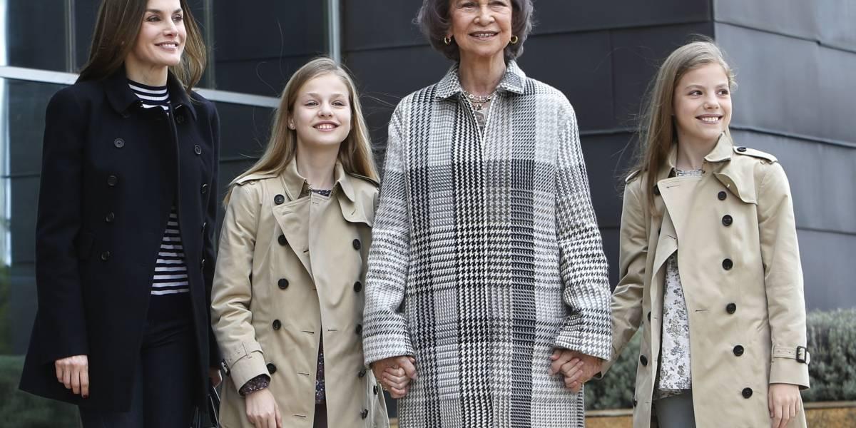 6 aspectos que separan a la princesa Leonor de su hermana la infanta Sofía