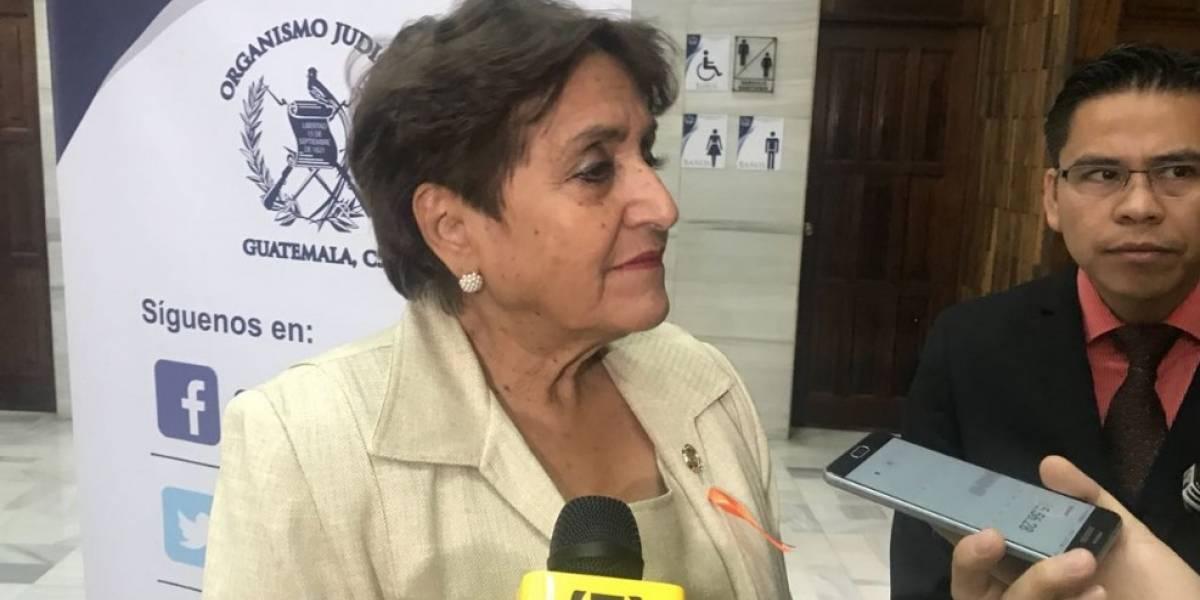 Fallece magistrada de la CSJ, Elizabeth García