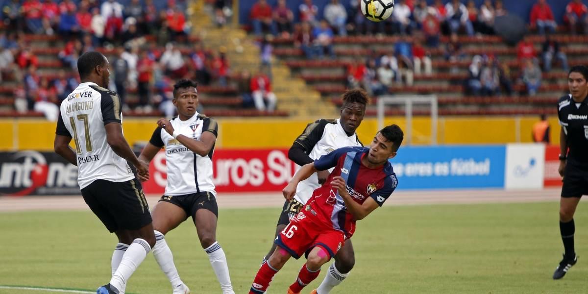 El Nacional vs Liga de Quito: Empate agónico de los criollos deja con sabor agridulce a los albos