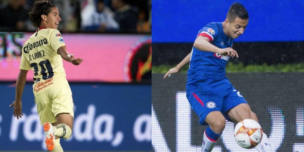 Lainez y Alvarado se lucen con golazos en la Liga MX