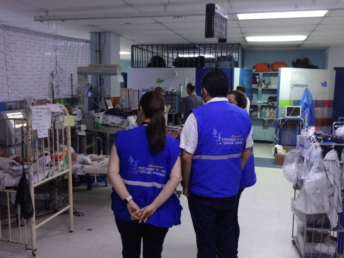 Área de Pediatría del Hospital General San Juan de Dios. Foto: Jerson Ramos
