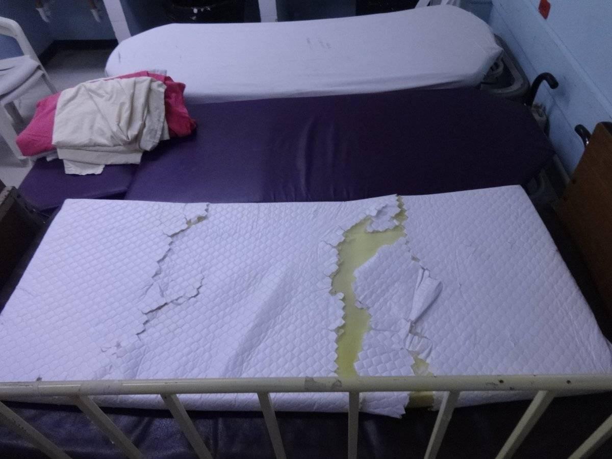 Equipo dañado en el área de Pediatría. Foto: Jerson Ramos