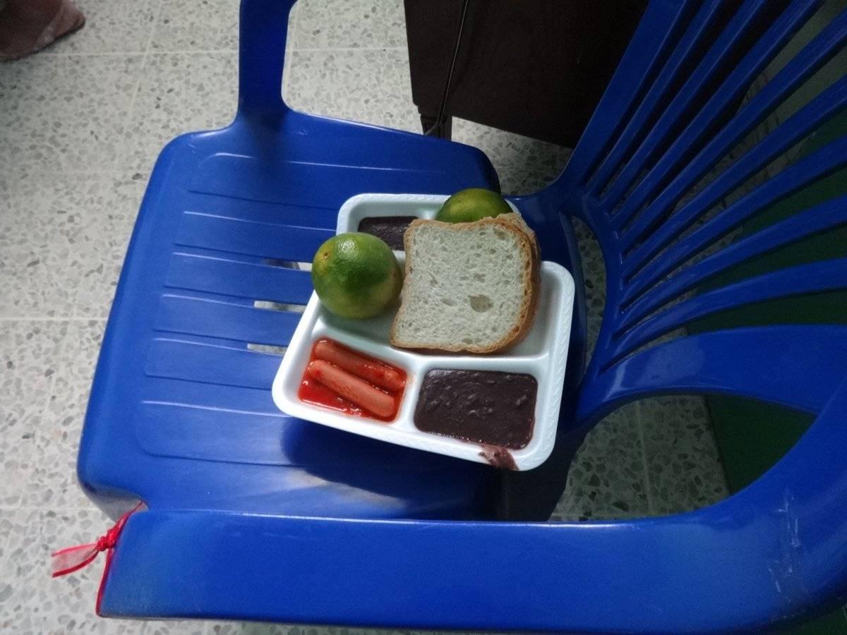 Alimentos para los pacientes de la Pediatría. Foto: Jerson Ramos
