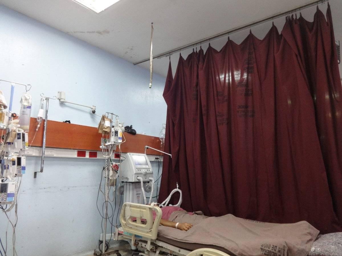 Emergencia de adultos del Hospital General San Juan de Dios. Foto: Jerson Ramos