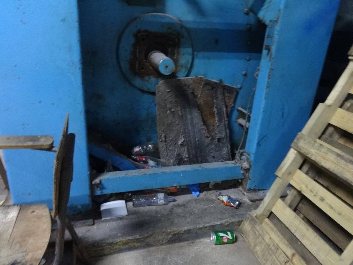 Basura acumulada en el área de lavandería. Foto: Jerson Ramos