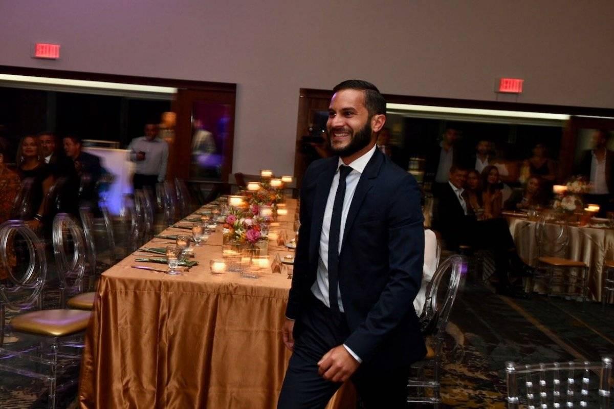 El reportero David Cordero Mercado recibió el galardón de Periodista Joven del Año. Dennis Jones / Metro Puerto Rico