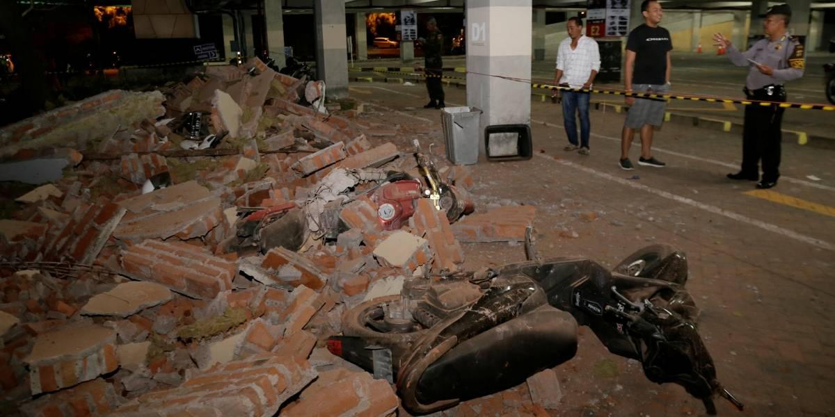 Terremoto na Indonésia deixa 3 mortos e danos