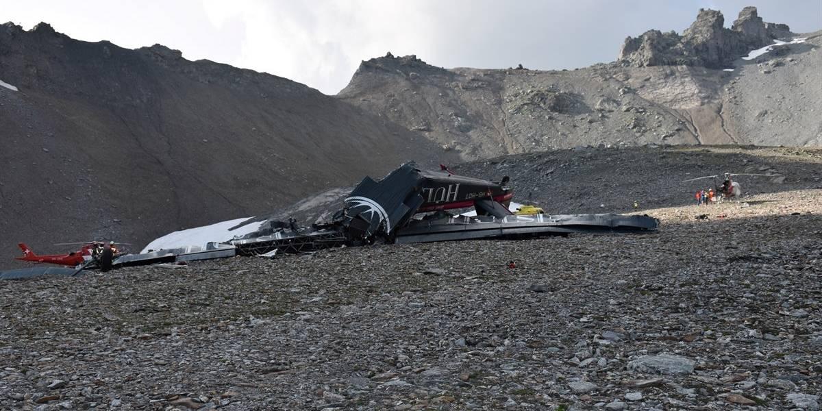 Avião turístico cai na Suíça e mata 20 pessoas