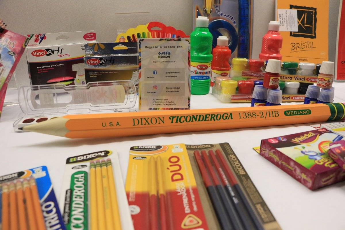 Fábrica de útiles escolares