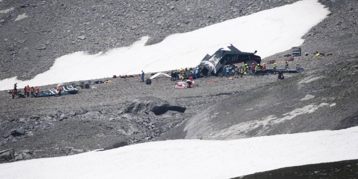 Tragedia en Suiza por accidente de avión militar de colección
