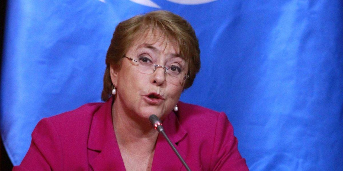 """Oficina de Ética de la ONU aclara la polémica: dieta recibida por Michelle Bachelet es """"un derecho"""""""