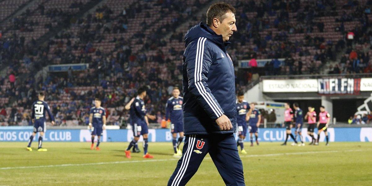 Frank Kudelka todavía no sabe de ganarle con la U a equipos de Primera división