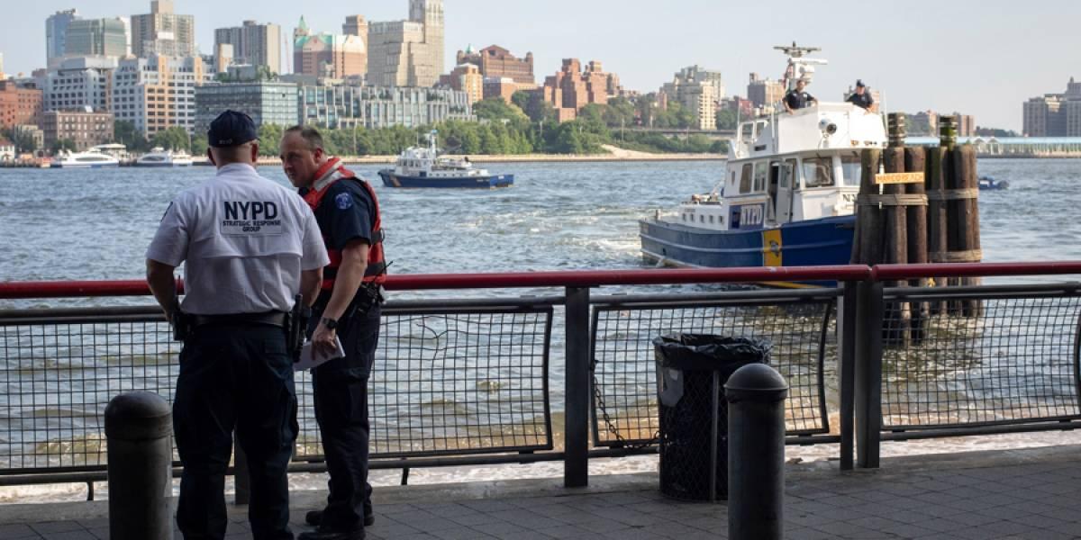 Encuentran cadáver de un bebé flotando en río de Nueva York