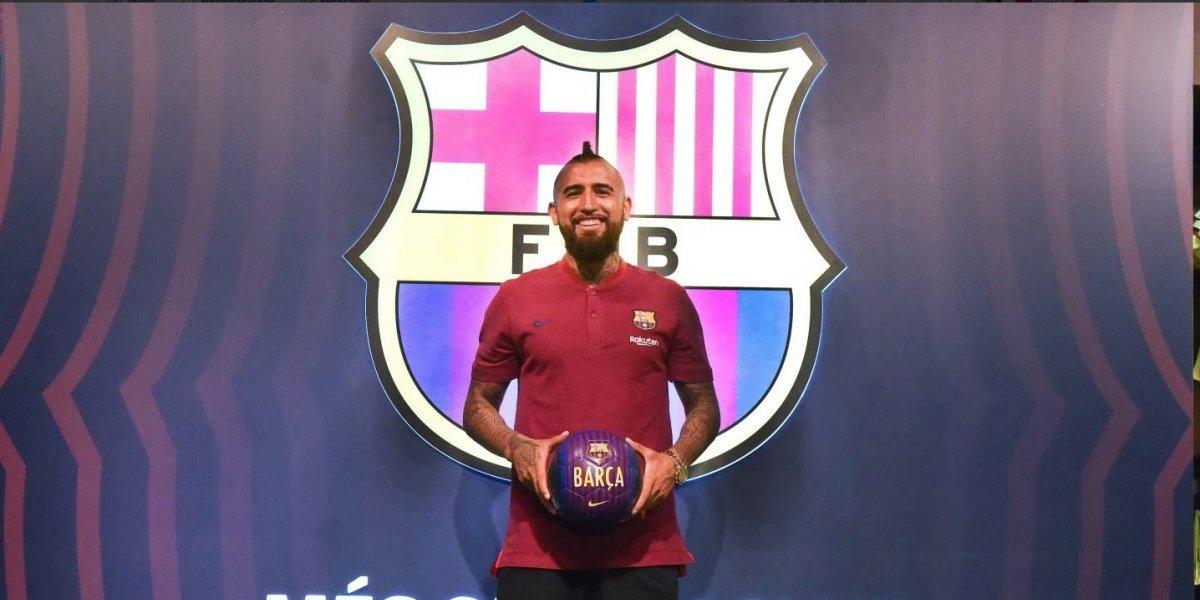 Minuto a minuto: Arturo Vidal es presentado como flamante refuerzo de Barcelona