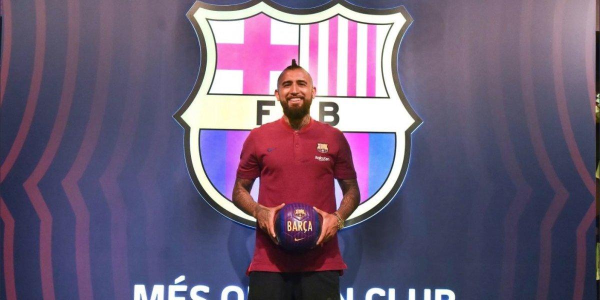 """Arturo Vidal nunca se achica y tiene claro su objetivo en Barcelona: """"Ganar todo"""""""