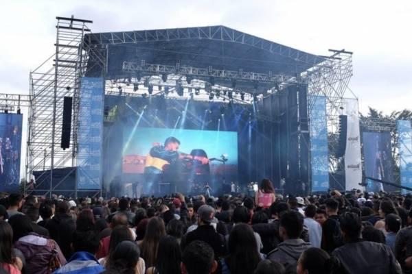 concierto Bogotá Gospel en el Festival de Verano 2018
