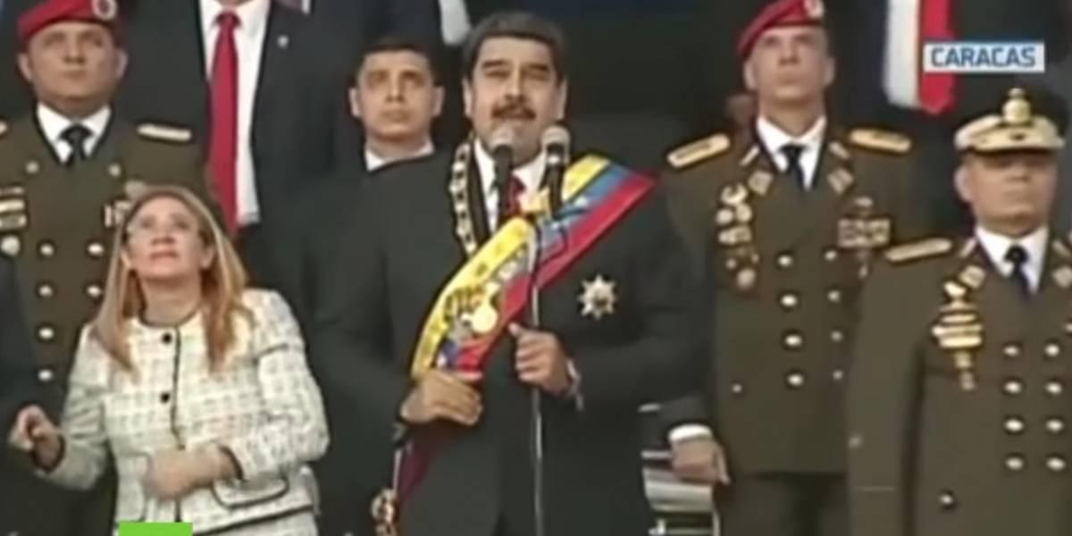 """VIDEO: Así vivieron los venezolanos """"el atentado"""" en contra de Nicolás Maduro"""