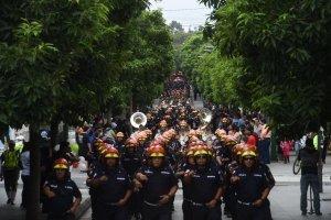 Desfile de los Bomberos Municipales