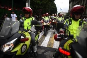 Desfile de Bomberos Municipales