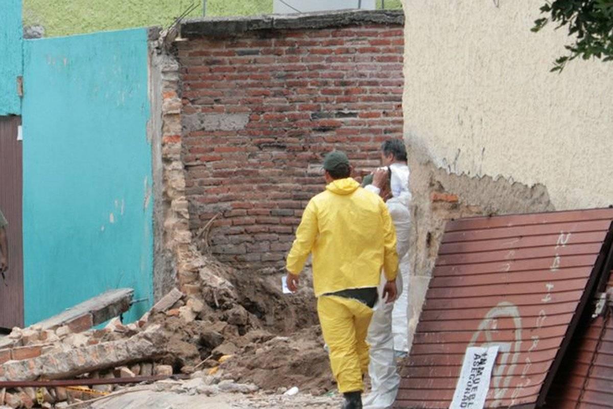 Ya son 10 los cuerpos hallados en una finca de Santa Elena de la Cruz en Guadalajara