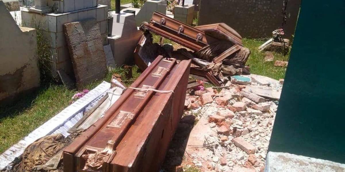 Profanan tumbas en Tepatitlán, se llevan los cráneos de cuatro cadáveres