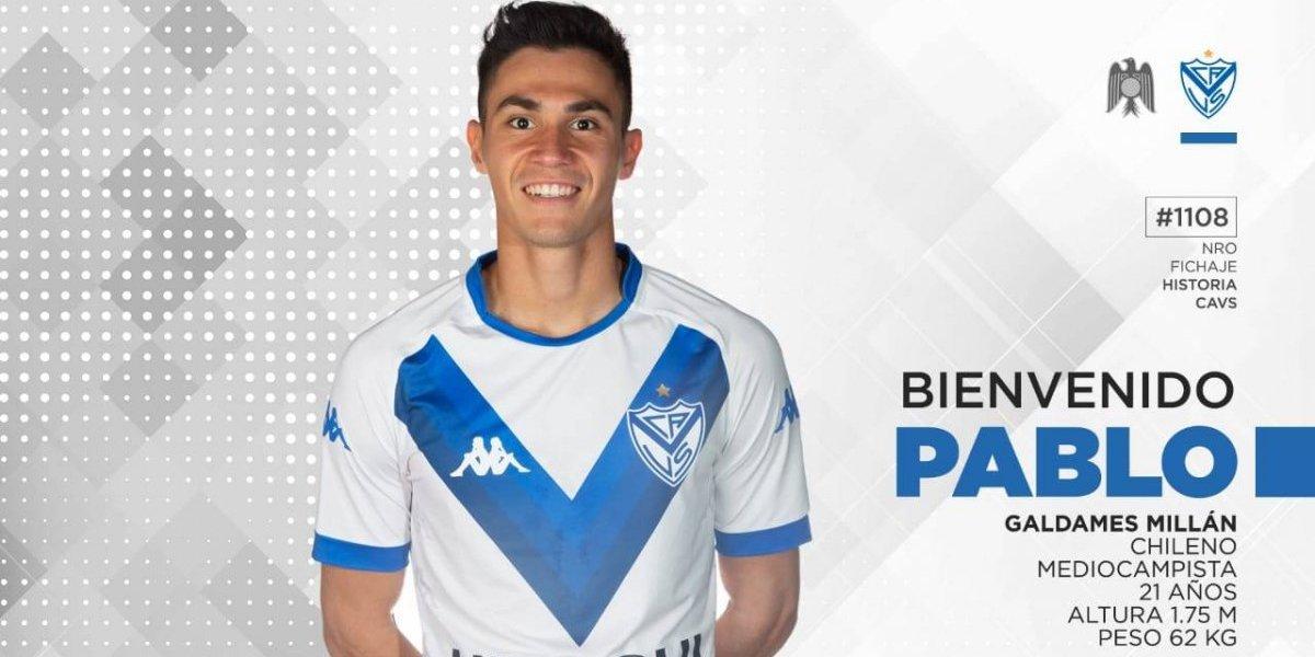"""Los referentes a seguir de Pablo Galdames en Argentina: """"Me gusta Fernando Gago, también el Poroto Cubero"""""""