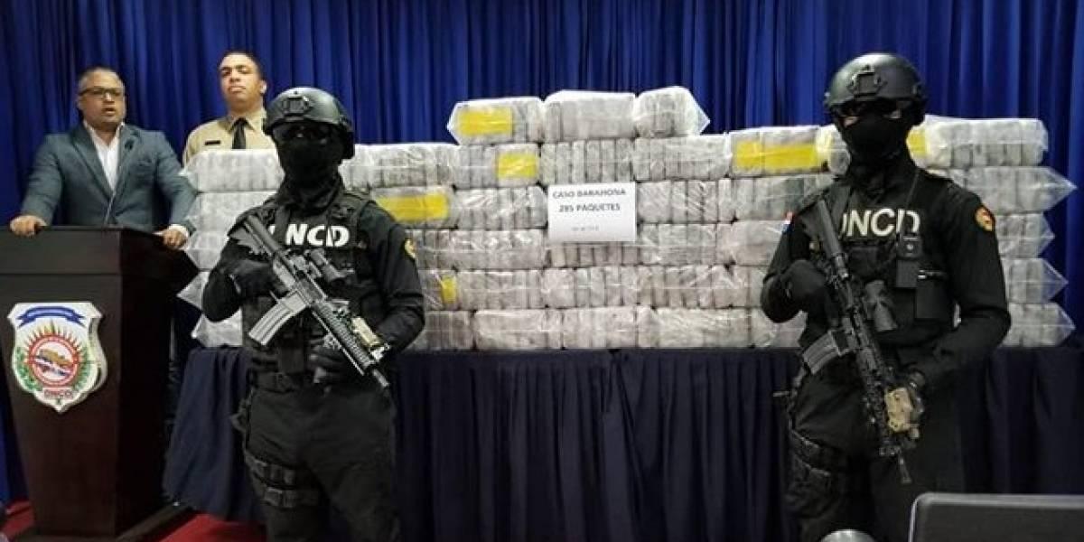 DNCD incauta 285 paquetes cocaína en Barahona