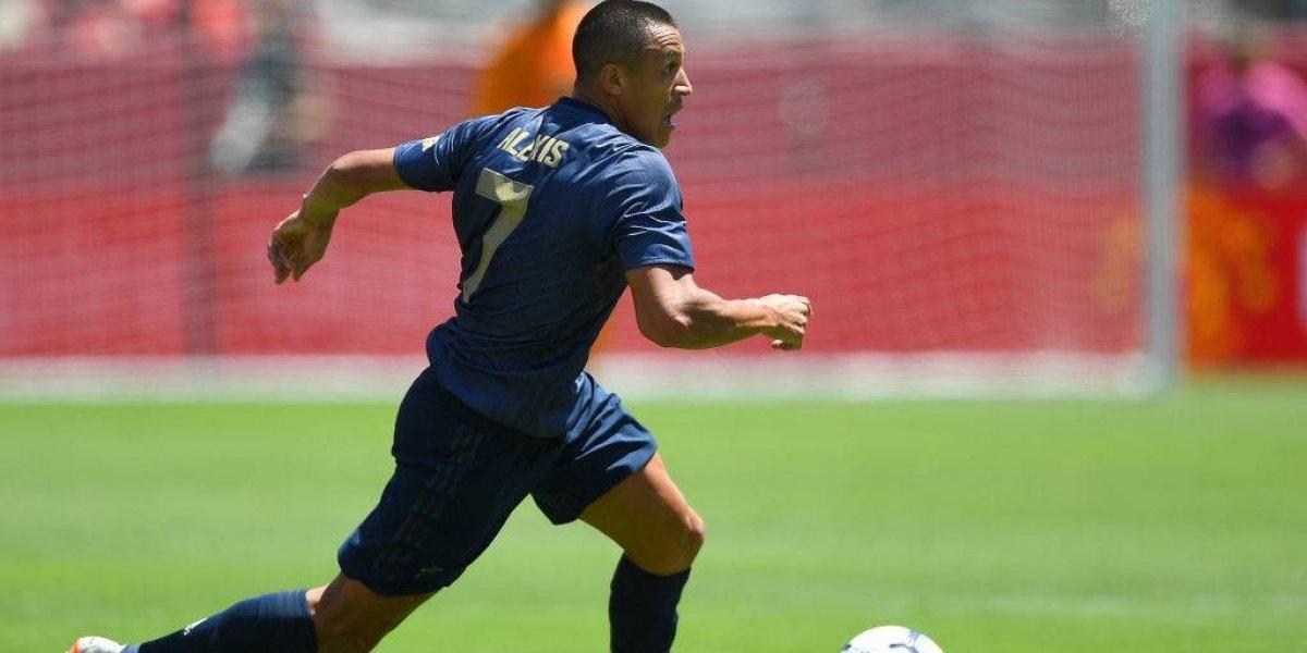 Minuto a minuto: Alexis Sánchez es capitán en el amistoso que enfrenta a Manchester United y Bayern Munich