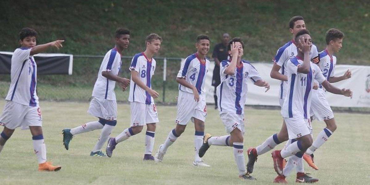 RD venció a San Matín en el inicio del campeonato CFU U-14