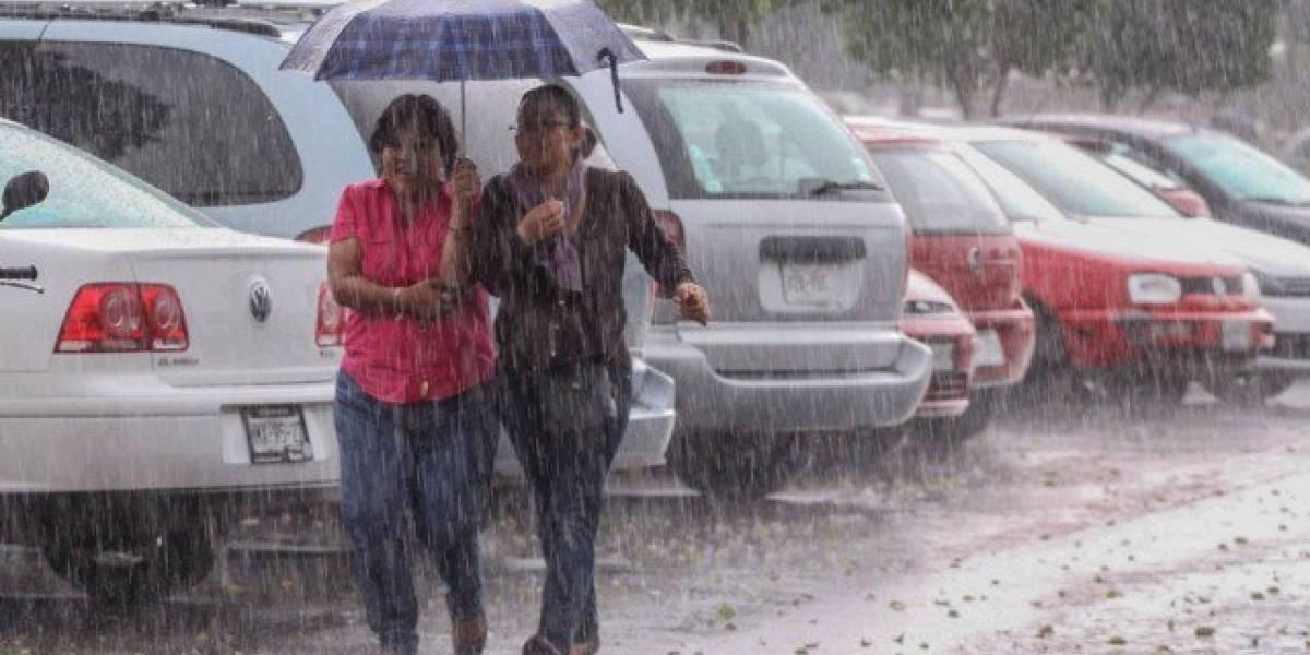 El COE decreta alerta verde en seis provincias a causa de las lluvias