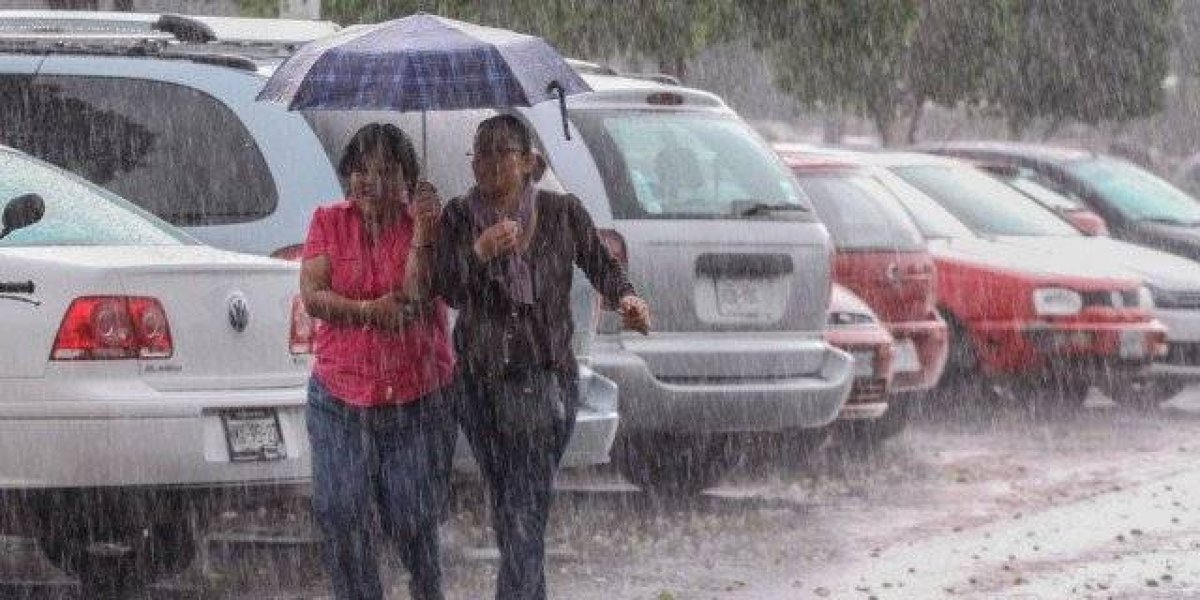 La Onamet pronostica aguaceros para hoy a causa de una vaguada