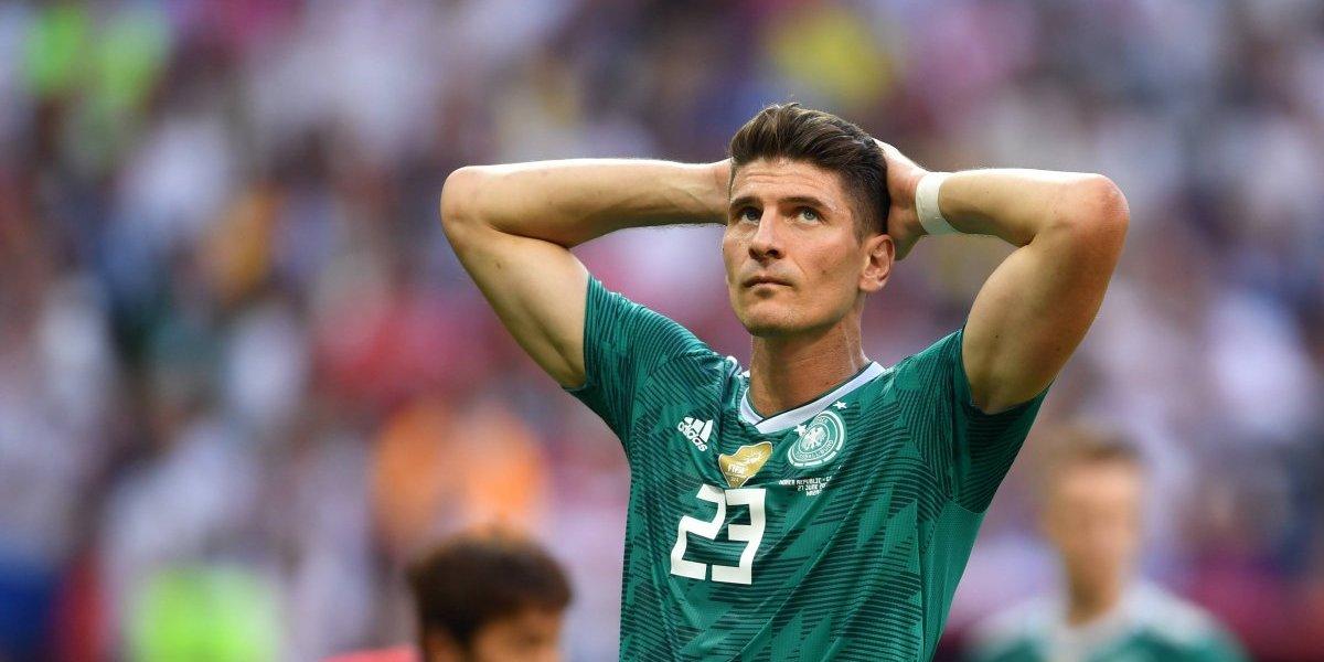 Mario Gómez anuncia su retiro de la selección de Alemania