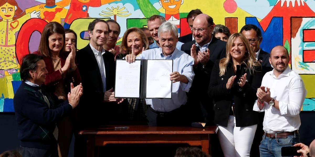 El fin del Sename: Presidente Piñera firmó proyecto de ley que crea el Servicio de Protección de la Niñez