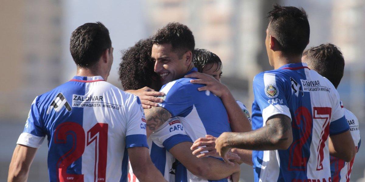 Deportes Antofagasta venció a Curicó Unido y sigue sólido en el Campeonato Nacional