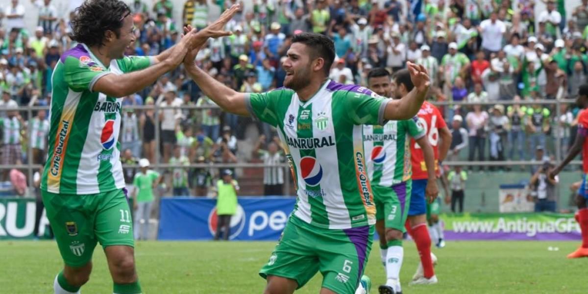 Antigua vence a Municipal con un gol de último momento