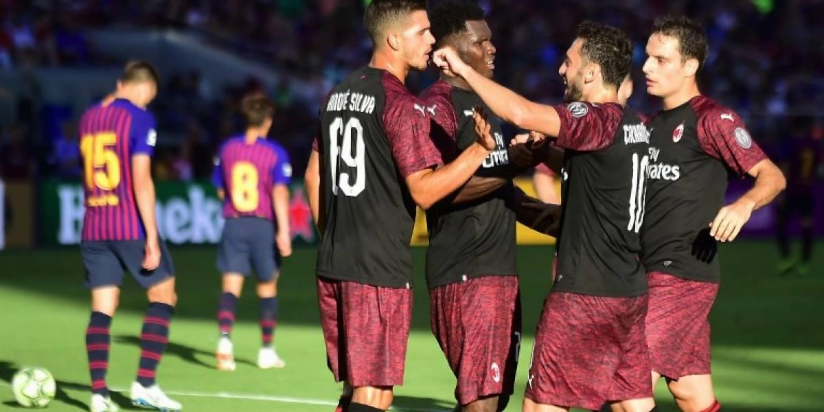 El Barça sufre su segunda derrota consecutiva en la pretemporada