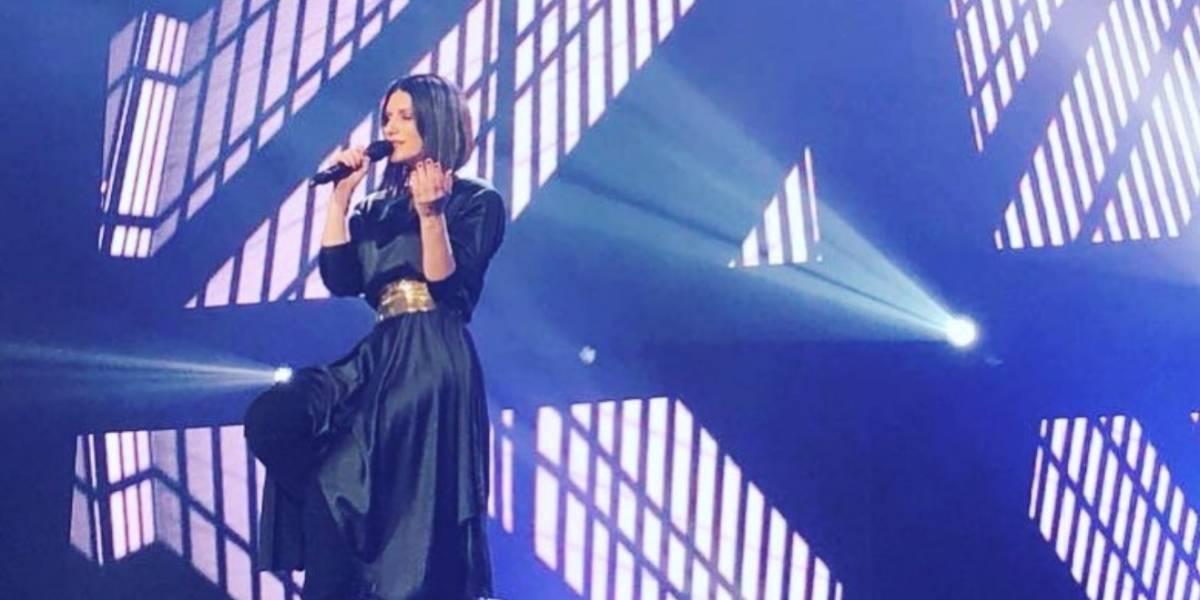 Laura Pausini se hizo sentir en la Arena Ciudad de México