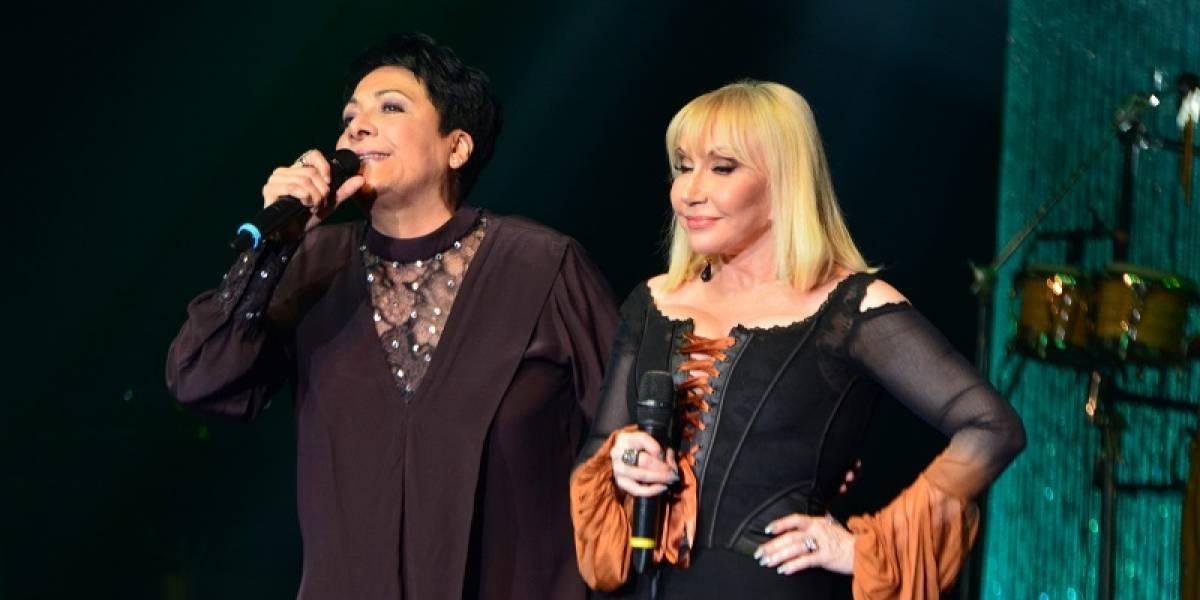 Sophy y Lissette Álvarez cantaron con el público rendido a sus pies